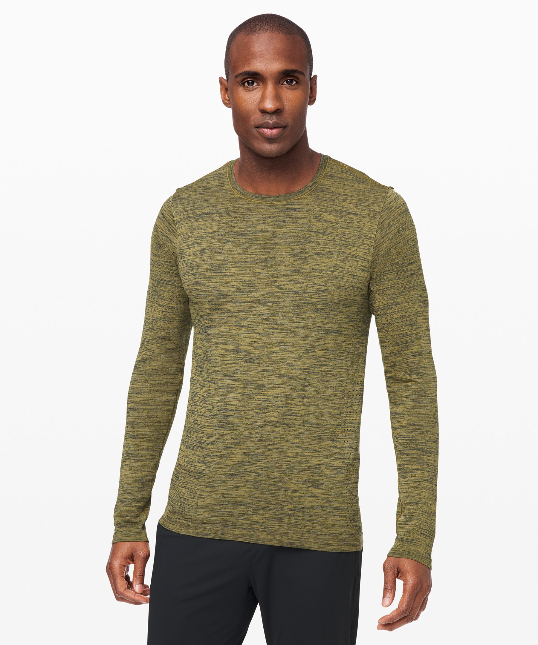 Lululemon Metal Vent Breathe Long Sleeve In True Navy/grape Leaf