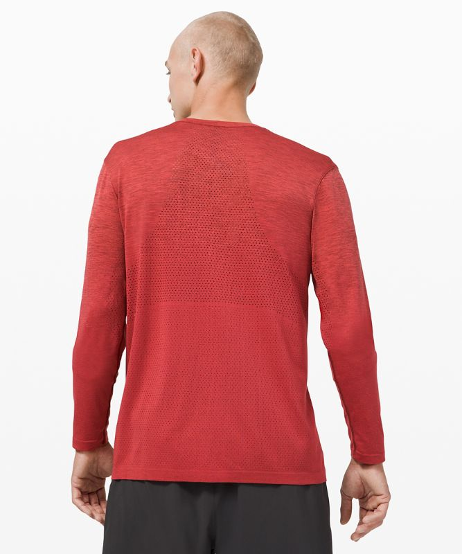 Metal Vent Breathe Long Sleeve