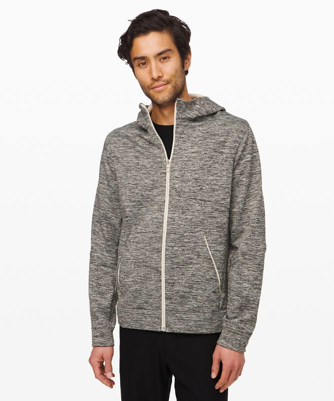 City Sweat Zip Hoodie Fleece