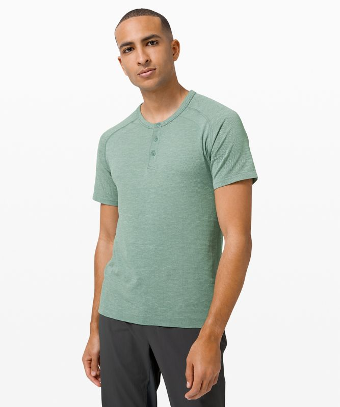 T-shirt Henley Metal Vent Tech 2.0