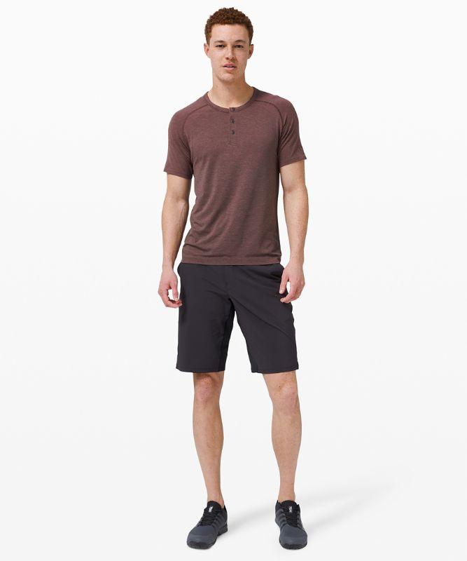Metal Vent Tech T-Shirt Henley 2.0
