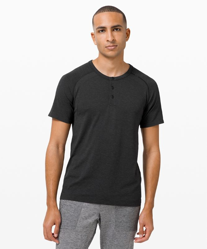 Metal Vent Tech T-Shirt Henley 2.0