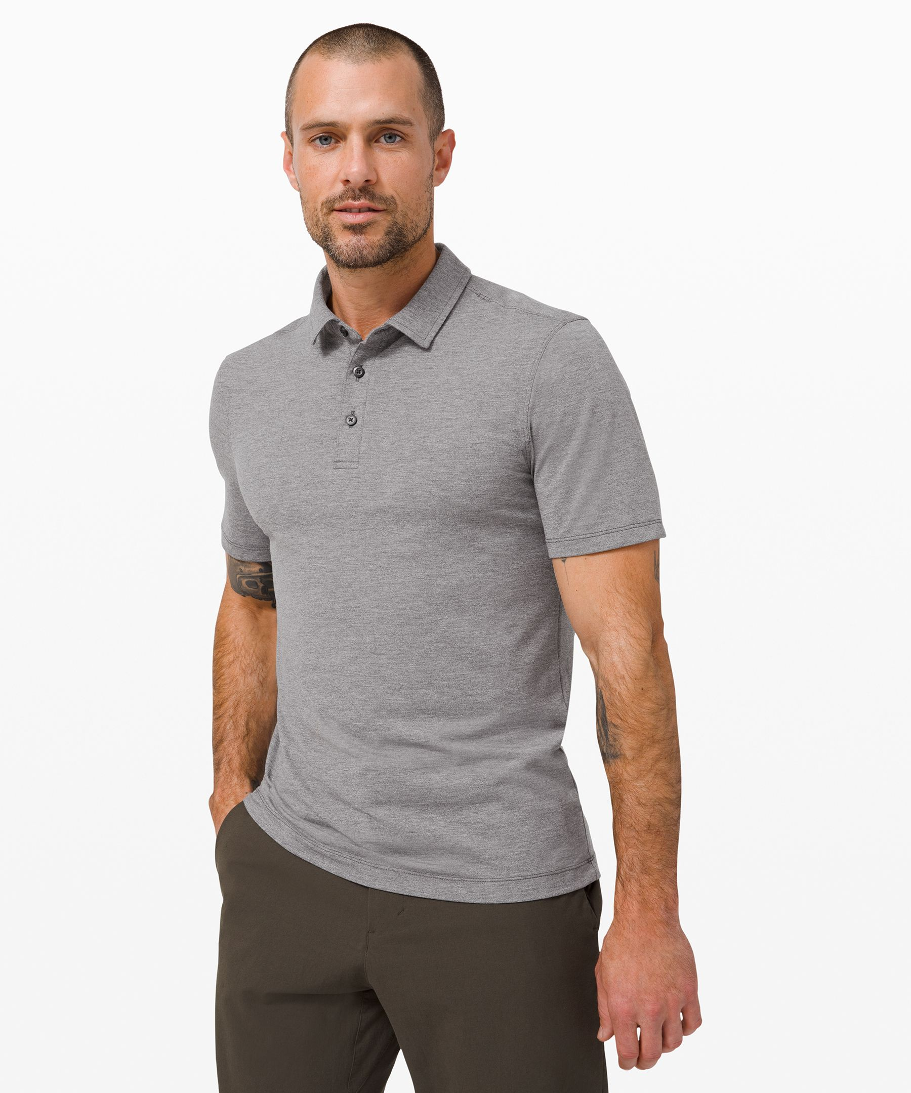 Evolution Short Sleeve Polo | Men's Short Sleeve Tops | lululemon