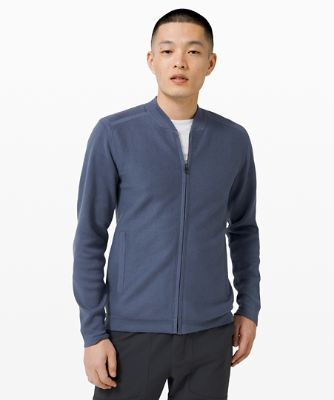 Cloudy Pine Bomber Jacket