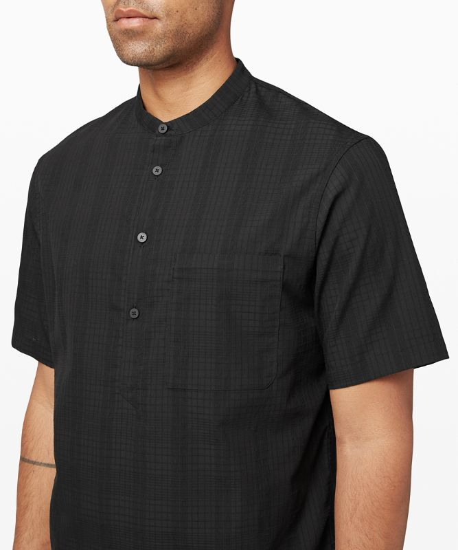 T-shirt Henley Down to the Wire *Grid