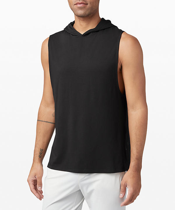 On Grid Sleeveless Hoodie | Men's Hoodies & Sweatshirts