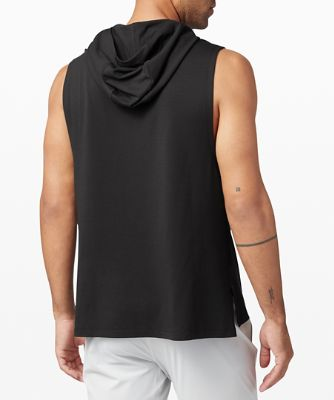 On Grid Sleeveless Hoodie