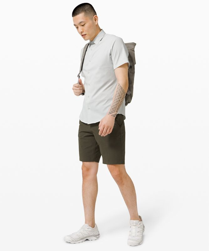 Airing Easy Short Sleeve Buttondown