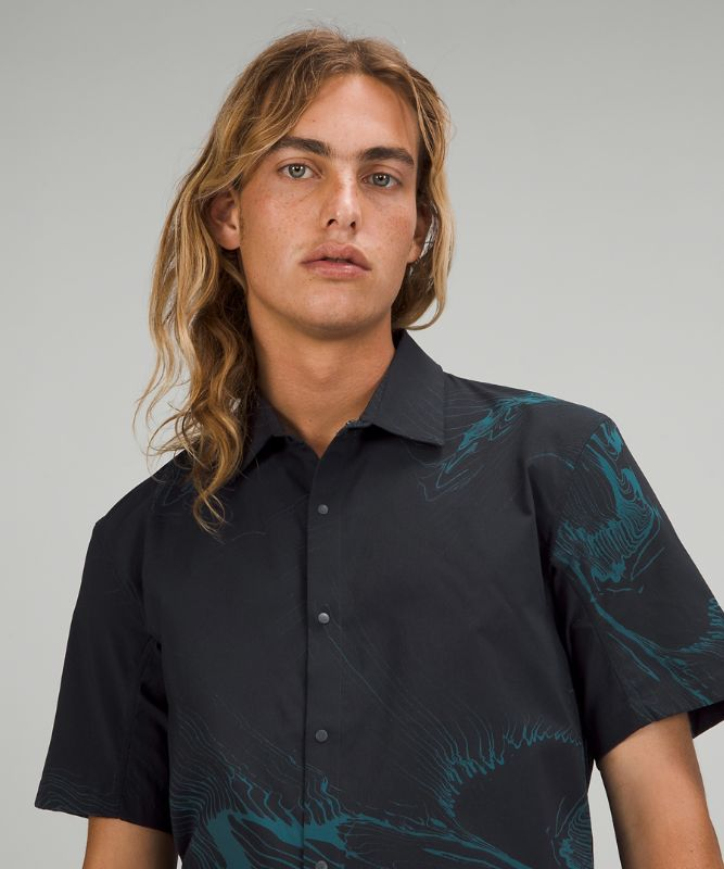 Mark Healey Moon Drift *Short Sleeve Shirt