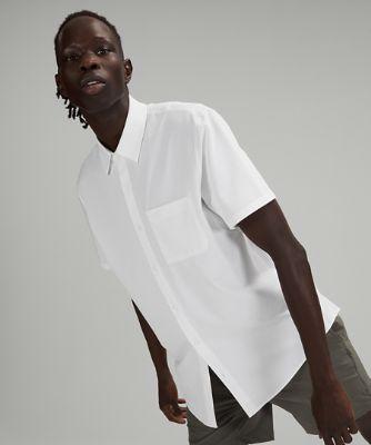 커미션 숏슬리브 셔츠, WHITE