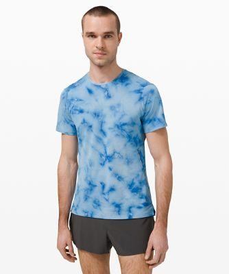 패스트 앤 프리 숏슬리브 *스프레이, TIDAL DYE VAPOR HAWAIIAN BLUE