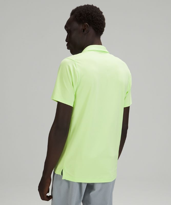 Snap Front Performance Short Sleeve Polo Shirt