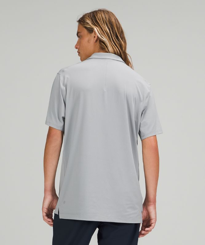 Snap Front Performance Polo Short Sleeve
