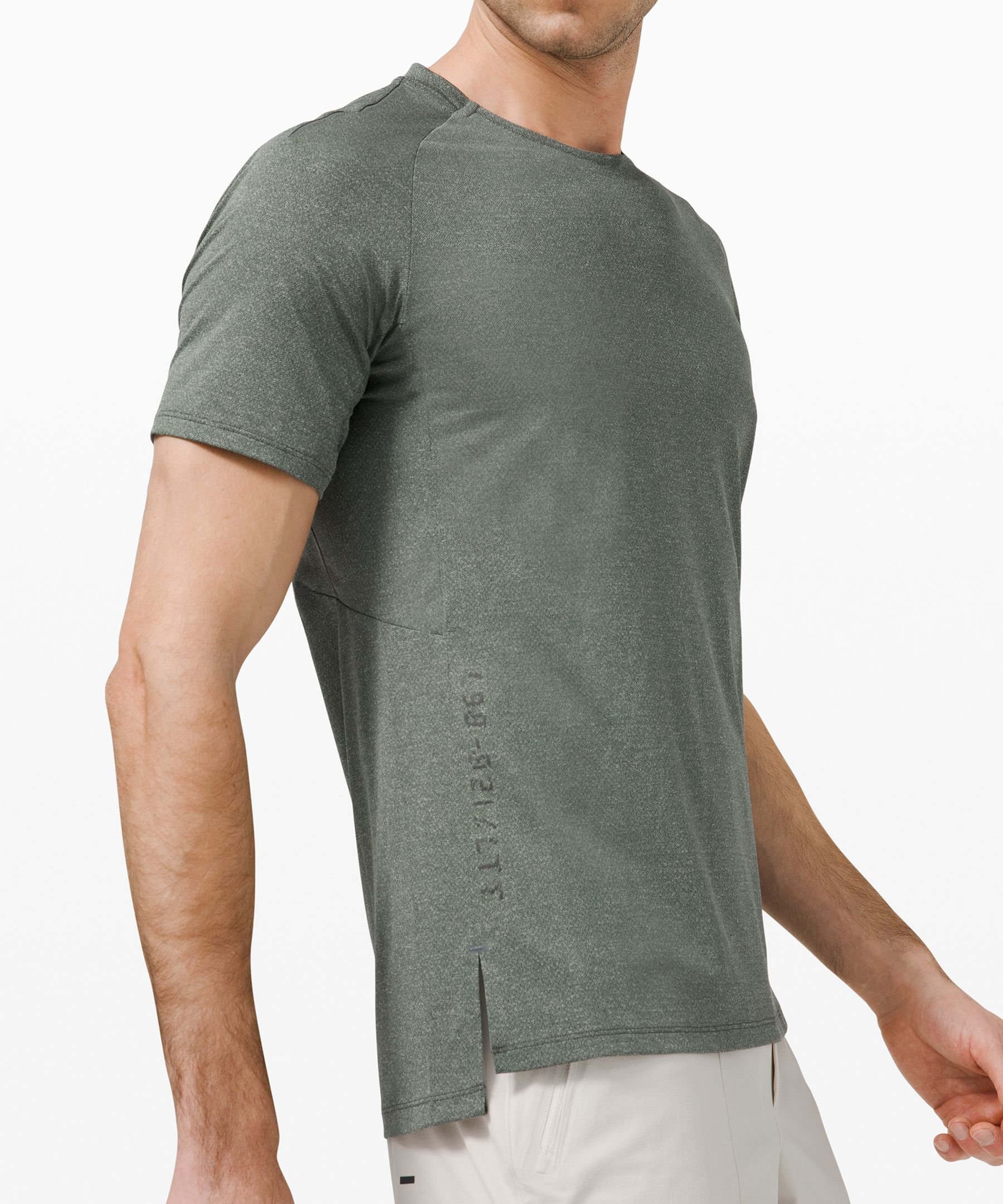Textured Training Short Sleeve