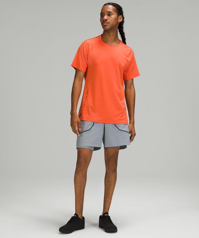 T-shirt d'entraînement texturé
