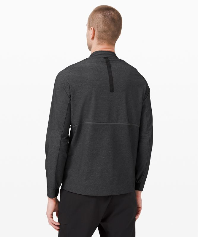 Pocketed Vented Train 1/2 Zip