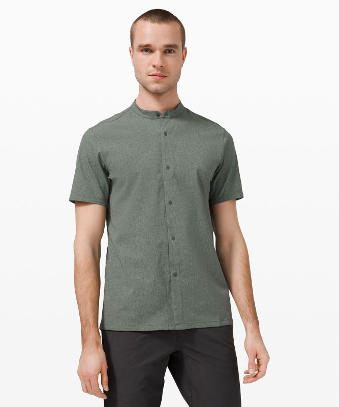 Airing Easy Stand Collar Shirt