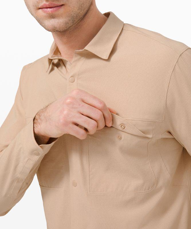 Airing Easy Overshirt *Ventlight Mesh