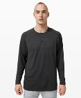 Metal Vent Tech Long Sleeve Henley 2.0