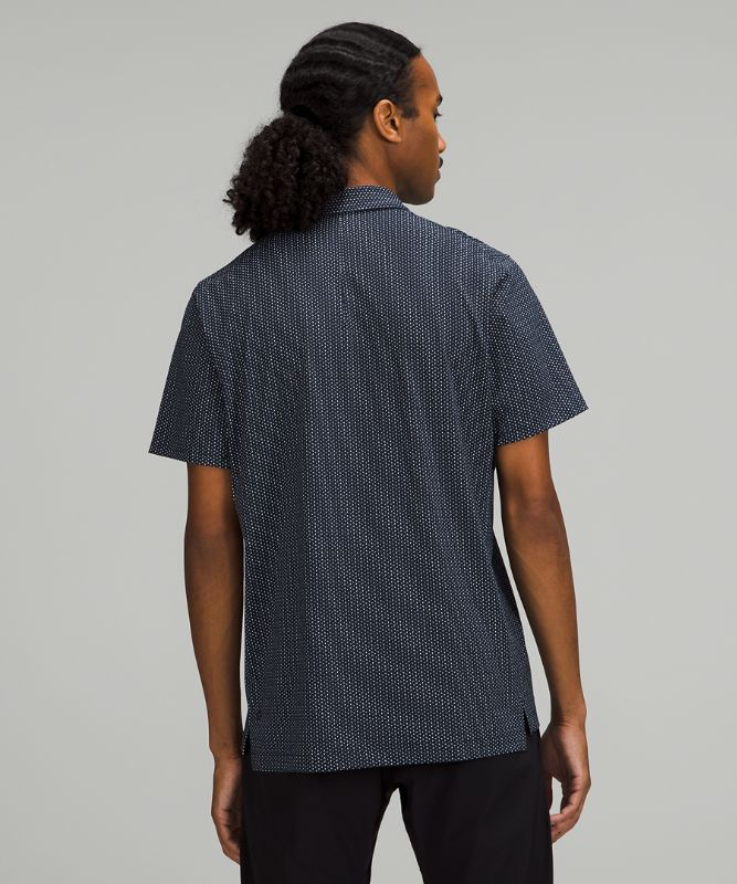 Snap Front Performance Polo SS