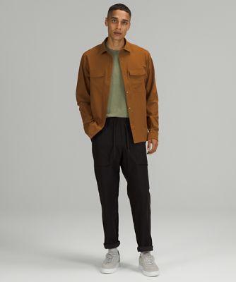 Double Pocket Long Sleeve Overshirt