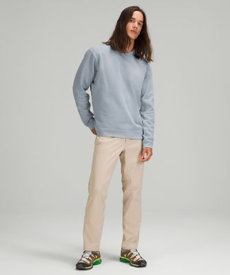 French Terry Oversized Long Sleeve Crew