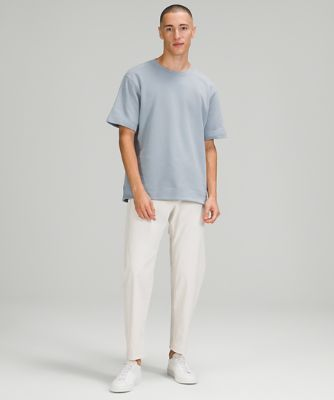 French Terry Oversized Short Sleeve Crew