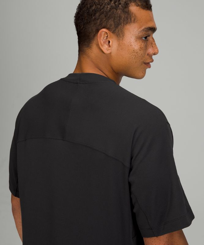 Rulu T-Shirt mit Stehkragen