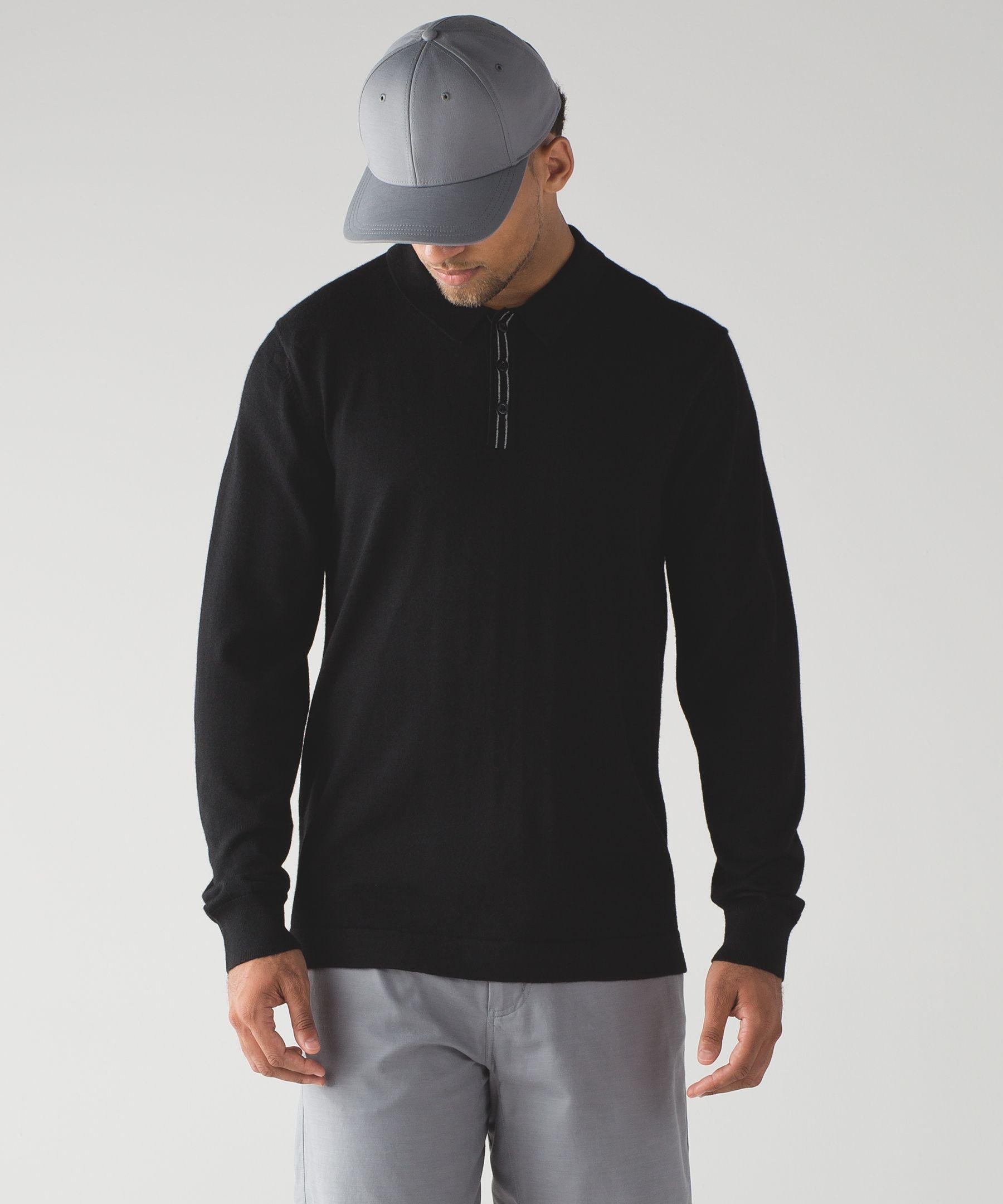Techwool Long Sleeve Polo