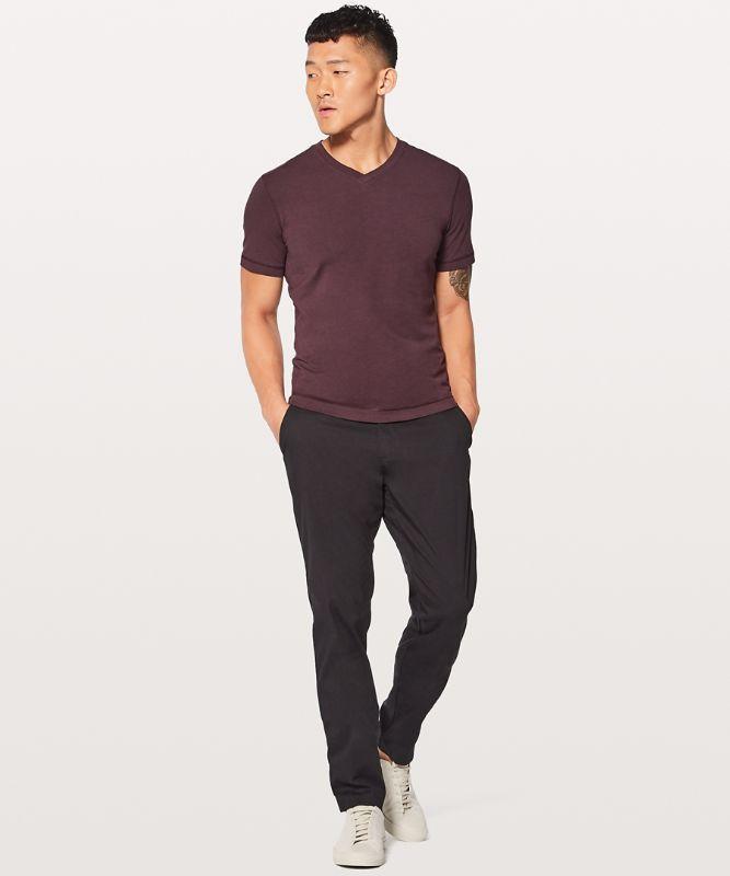 5 Year Einfaches T-Shirt mit V-Ausschnitt