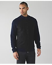 Knowlton Sweater Hybrid*Wind DNVY/BLK XXL
