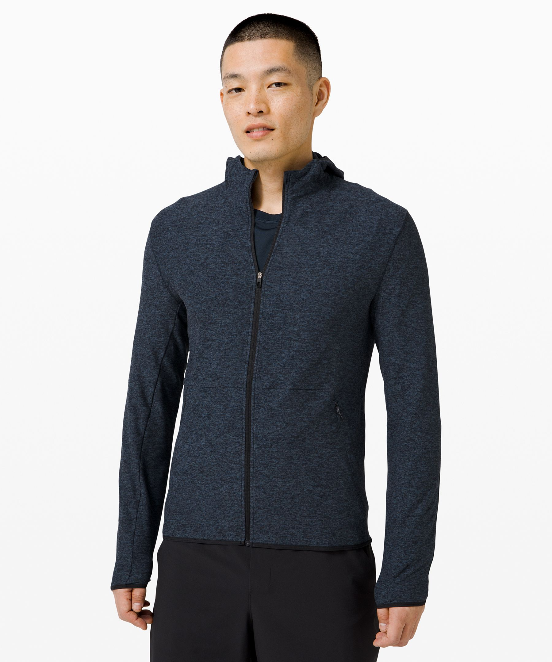 Stay warm and on the radar as you power through late-night runs. This top offers the perfect blend of warmth, breathability, and reflectivity.