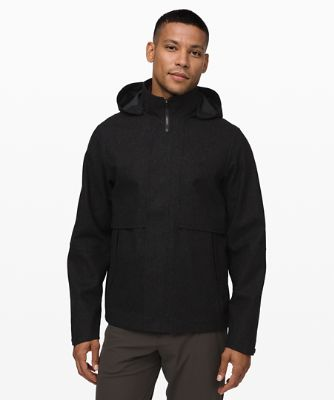 Storm Break Rain Jacket *Wool