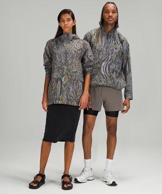 lululemon lab Half Zip Jacket *Print