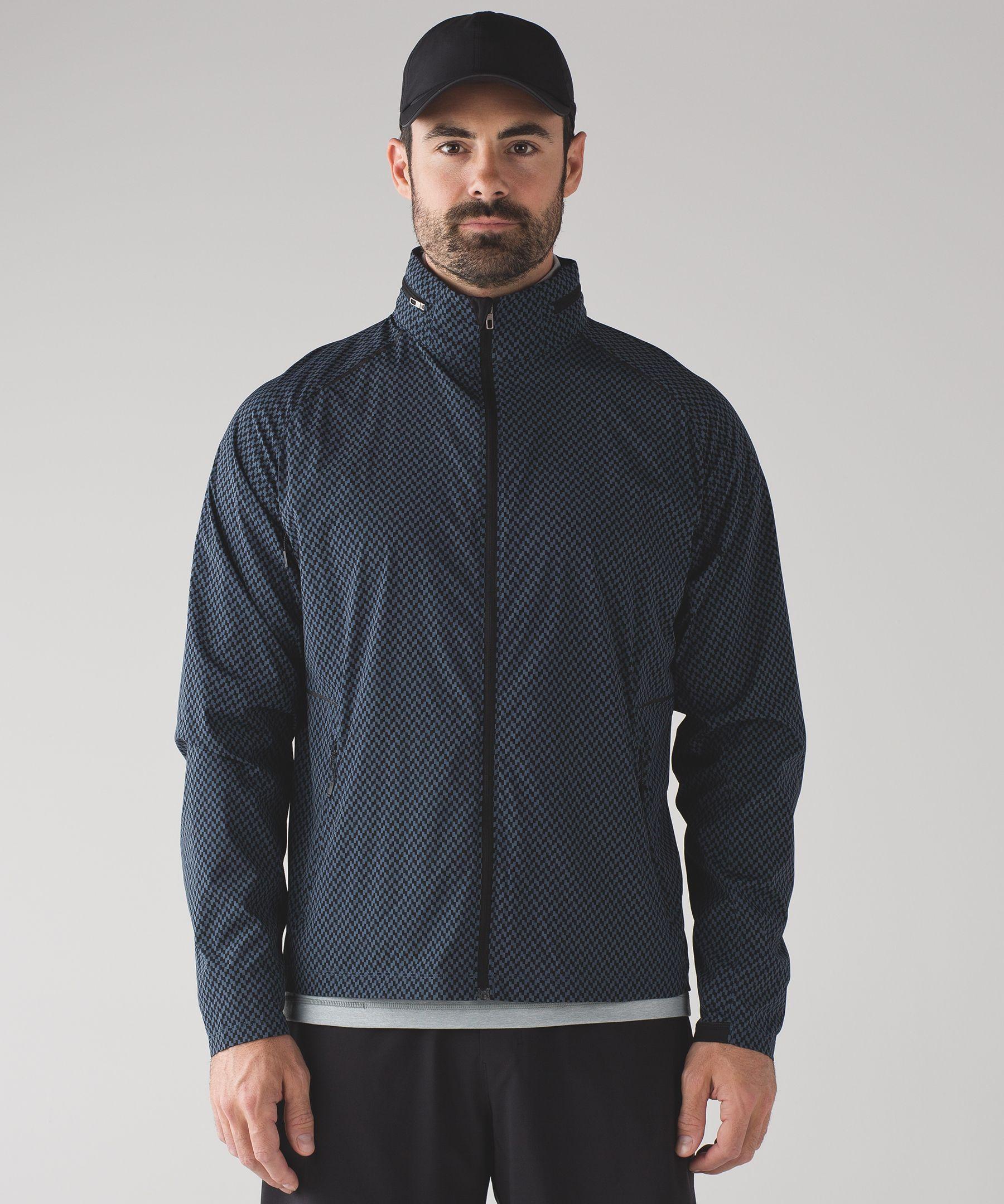 Surge Jacket Men S Running Jackets Lululemon Athletica