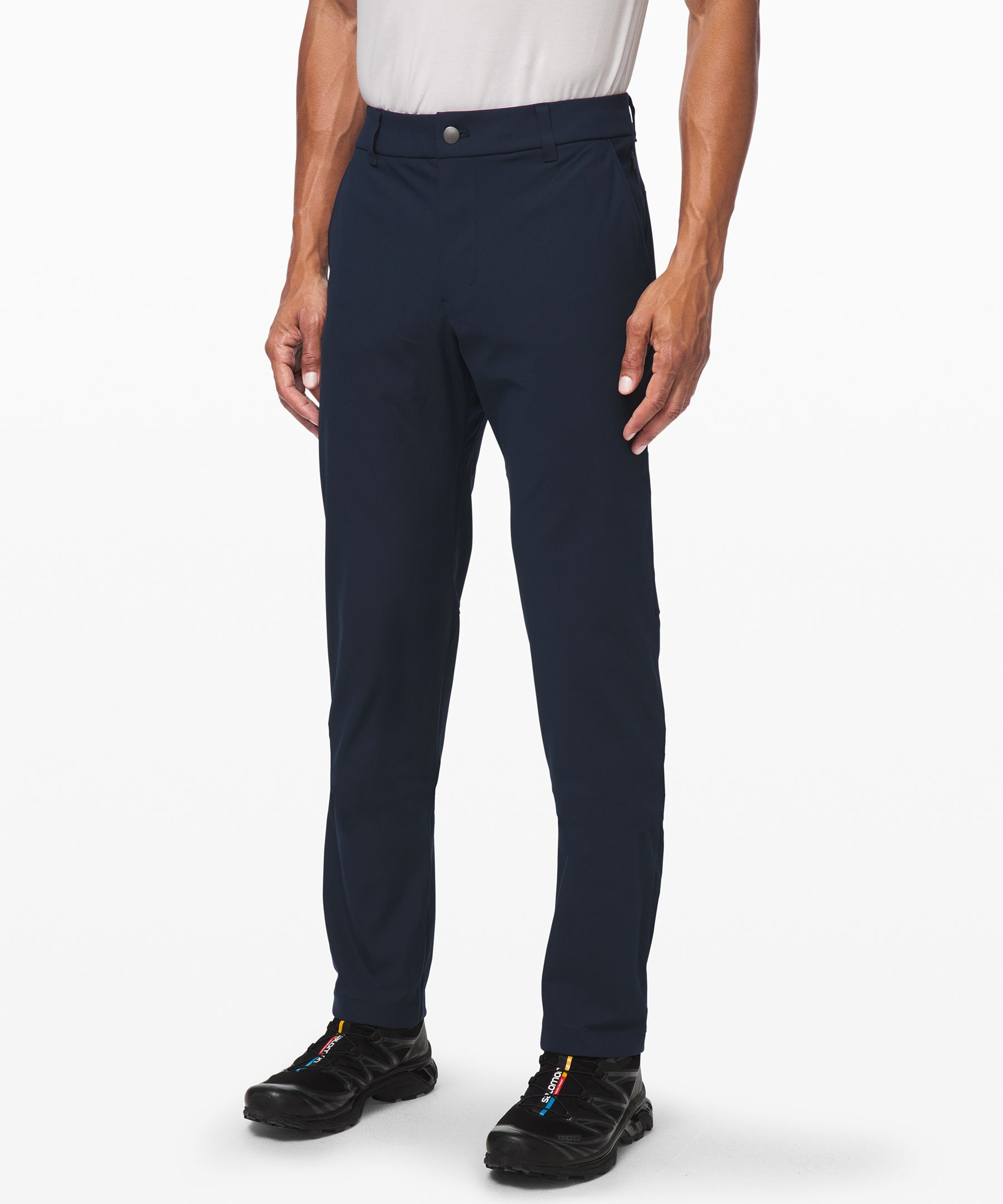 Our men\\\'s pants are designed to keep you dry and comfortable for running, yoga, workouts and everything else. Complimentary shipping to Canada and the US.