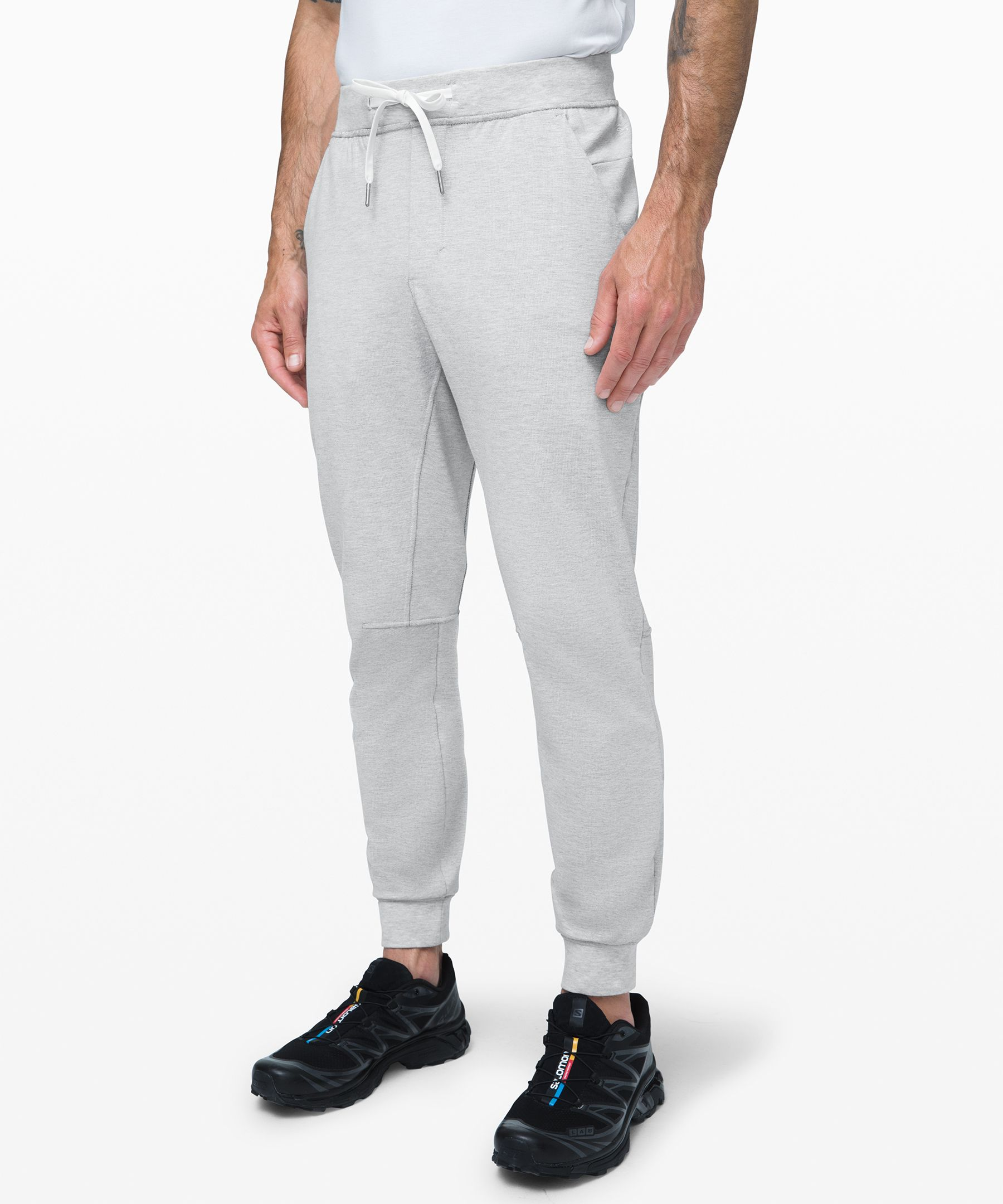 """Lululemon City Sweat Jogger French Terry 29"""" In Heathered"""