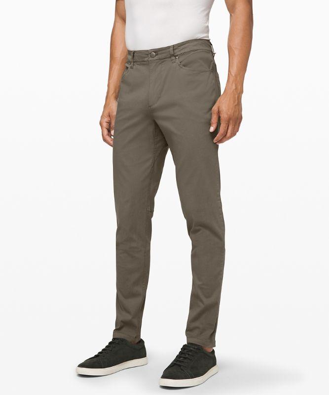 Pantalon ABC ajusté 86 cm *Long Teinture
