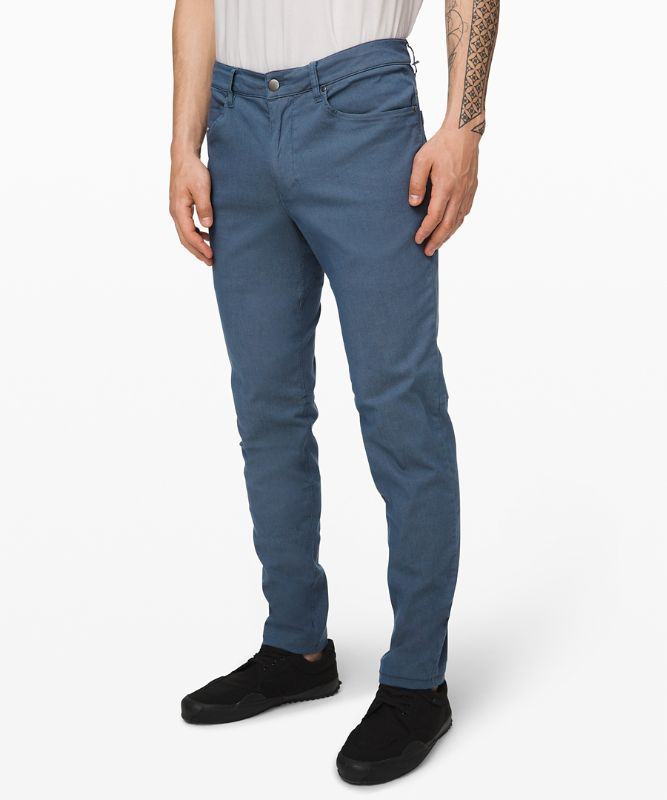 Pantalon ABC ajusté 86 cm *Long Teinture