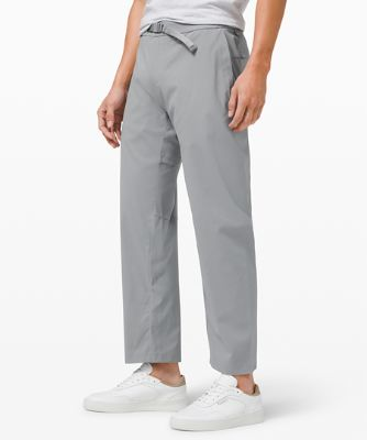 """Relaxed Fit Belted Stretch Pant 29"""""""