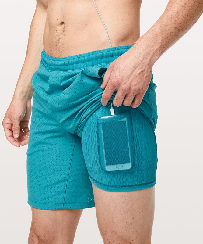 """Pace Breaker Short 9"""" *Lined- Perforated"""