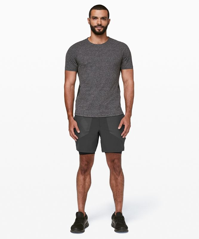 "Stronger as One Short Lined 7"" *lululemon X Barry's"