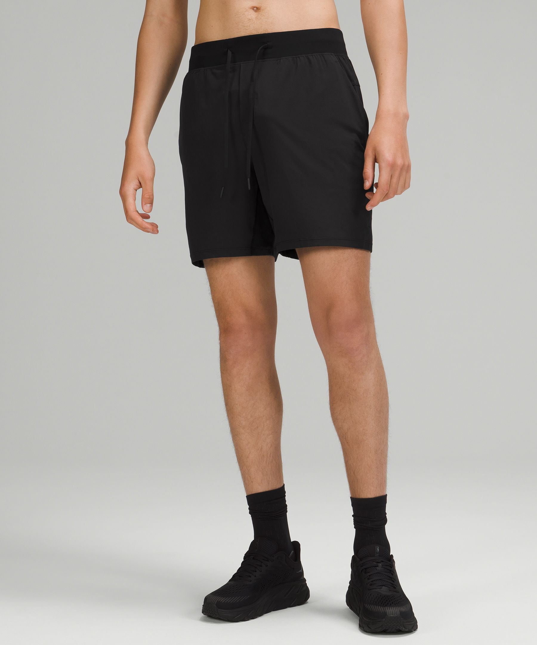These lightweight, sweat-wicking, and four-way stretch shorts are designed for pushing your sweaty limits.
