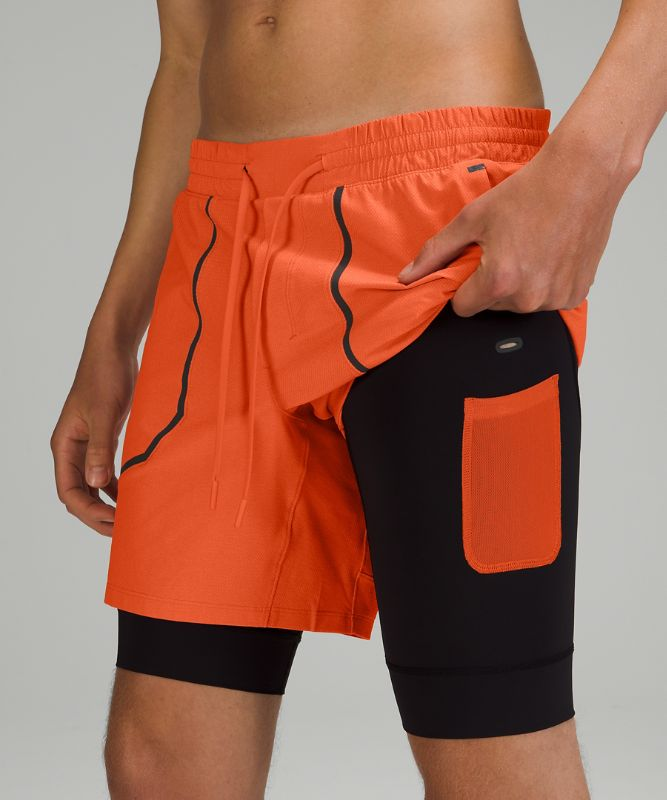 """License To Train Lined Short 7"""" *Elite"""
