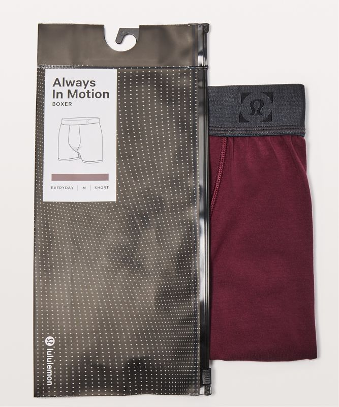 Always In Motion Boxer *5""