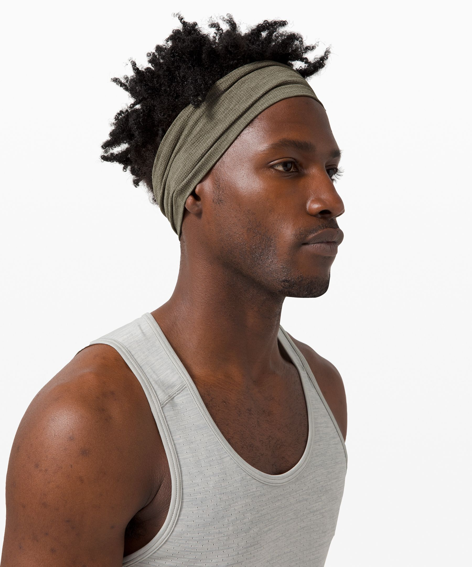 Lululemon Metal Vent Tech Headband In Green