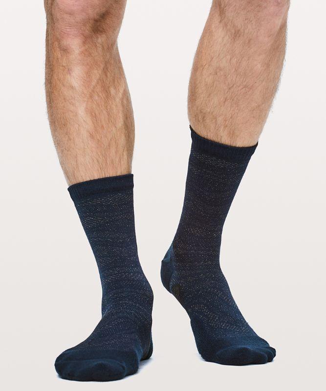 T.H.E. Crew Sock *Silver