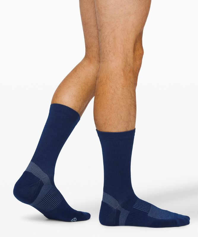 Go Further Crew Sock *Wool