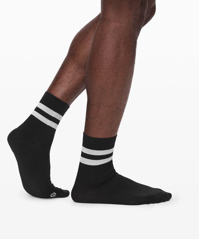 Surge Crew Sock *Silver