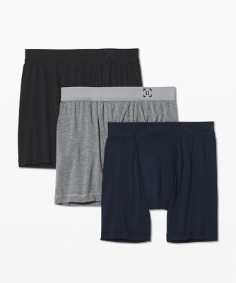 Always In Motion Boxers *7,6 cm 3er-Pack